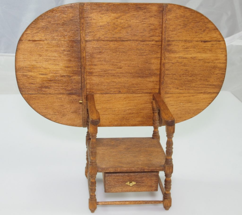 Chair Table - Authentic Reproductions in Miniature?