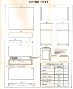 Kit Building Essentials - Use the Layout Sheet