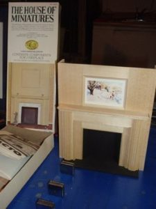 Miniature Tidewater Virginia Fireplace