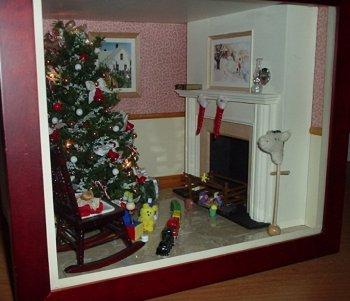 Miniature Tidewater Virginia Fireplace