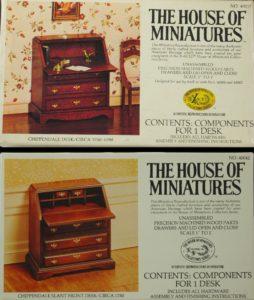 Miniature Slant Front Desk
