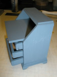 The Chippendale Miniature Slant Front Desk from The House of Miniatures™ is one of the most popular designs in the product line. I've built two of 40017, one of 40042, and rebuilt a 40017 that had been abused.