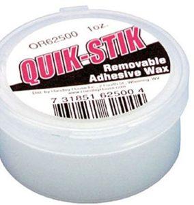 scenery wax, quik stik brand