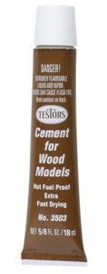 testors extra fast wood glue