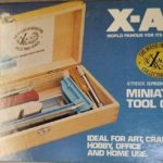 A great X-Acto knife is one of the tools you want when building miniature furniture