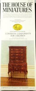 Chippendale Straight-Top Highboy kit 40022